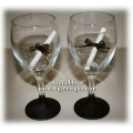 Wine Glasses with Chalk Base - You name it...