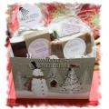 Yellow Rose Bath & Body Christmas Gift Basket