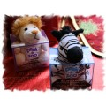 Peek-a-Zoo Get Well Friend - Zebra or Lion