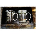 McIntosh Fine Bone China - Tom Thomson Mug Pair - The Canoe/The West Wind