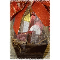 Lil' Gift of Tea & Sweets, Just for You Gift Basket - Creston BC Delivery