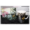 McIntosh Fine Bone China - Robert Bateman Golden-crowned Kinglet Crest Mug