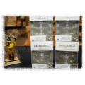 David Tutera - Illusion Clear Glass Floaters - 3 pc