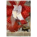 Strawberry Tea & Treats Gift Basket