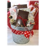 Man Den Bucket O' Snacks Gift Baskets