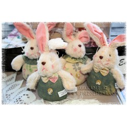 Easter Bunnies with Bendable Ears - Easter Basket add-on