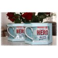 Diner Style Mugs - His (&/or) Hers