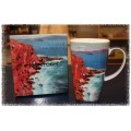 McIntosh Fine Bone China - Bruce Red Rock, St. Nazaire Grande Mug