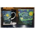 "McIntosh Fine Bone China - Van Gogh ""Starry Night"" Grande Mug"
