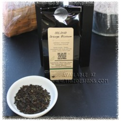 Oolong Orange Blossom Tea - Creston BC Tea & Tea Accessories