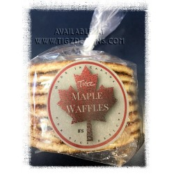 Canadian Maple Waffles - 8's