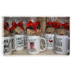 Naughty Coffee Mug Collection with Sasquatch Coffee