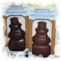 Barkley's All-Natural Solid Chocolate Snowman - Milk or Dark