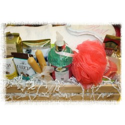Bath & Body Treats Gift Basket - Creston BC Delivery
