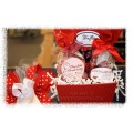 Chocolate Delights - Red Gift Basket