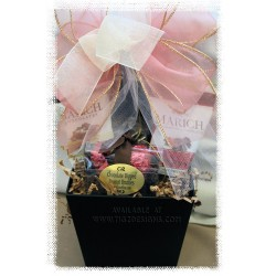 Sweet Chocolate Bliss Gift Basket - Creston Gift Basket Delivery