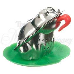 TEA FROG Kettleby Infuser w/Drip Tray