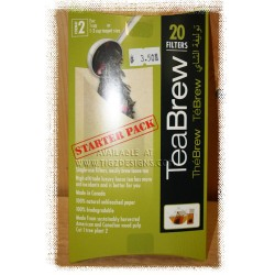 TeaBREW Filters - Starter Pack of 20