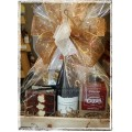 BC Wine & Treats Gift Basket - Add on: Brittany's Flower Farm Bouquet optional
