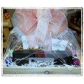Chocolate Sweet Treats Gift Basket - Local Flower Bouquet add-on option