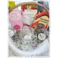 Tea & Cookies with Tea Cup (or 2 Bistro Mugs) Gift Basket
