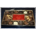 Canadian Chocolate Box - Assorted Chocolates made with PURE CALLEBAUT Belgian Chocolate
