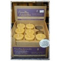 Essential Votive Country Lavender Beeswax Candle - Honey Candles, Kaslo BC