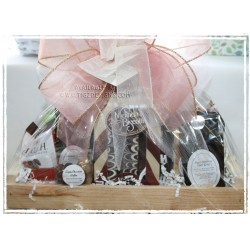 A Whole LOT of Chocolate & a lil' Tea Gift Basket