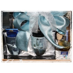 Bateman Mug Pair Gift Basket - with Made in BC Treats - Gift Basket