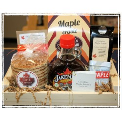 Canadian Maple Lover's Gift Basket