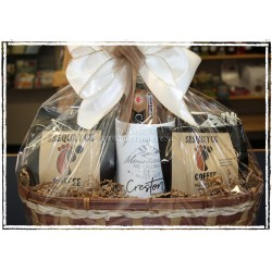 Creston Coffee Lover's  Gift Basket