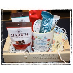 Friends Tea & Chocolate Gift Basket - Creston Gift Basket Delivery