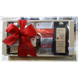 Canadian Maple Gift Basket - Shipper Style-01