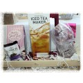 ICY Tea Lover's Gift Basket - Featuring a TAKEYA Flash Chill Iced Tea Maker