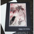 Encaustic Elements - Birthday Card #19-48