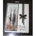 Encaustic Elements - Thank You Card #19-61