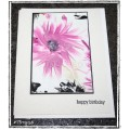 Encaustic Elements - Birthday Card 19-56