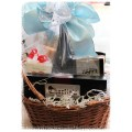 A Few of Her Favorite Things - Gift Basket | Seasonal bouquet from Brittany's Flower Farm available