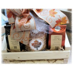 Organic Tea and Sweets Gift Basket - Creston BC Delivery
