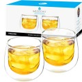 Grosche Fresno Double Walled Cups without handles - set of 2