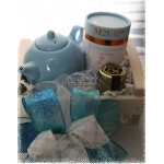 Tea for One Gift Basket - Choose your teapot color & tea variety