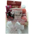 Pretty in Pink Gift Basket - 01