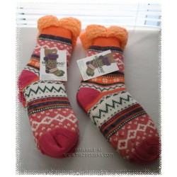 SNOOZIES Sherpa Lined Socks - Brights