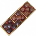 Callebaut Belgian Chocolate Cherries - 200g Box Mixed Milk & Dark Chocolate