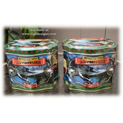 British Columbia Adventure Tea Tin - Maple Blueberry Black Tea (20 tbgs)