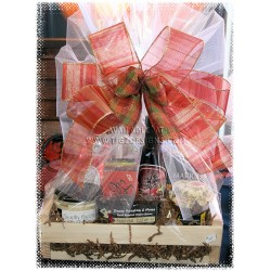 Gourmet Sweet & Savory Custom Gift Baskets
