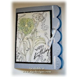 Nature's Scribbles & Stains Greeting Cards - SS11