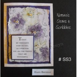 Nature's Stains & Scribbles Greeting Cards - SS3