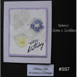 Nature's Stains & Scribbles Greeting Cards - SS7
