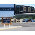 Creston British Columbia Postcards  - Tigz Designs